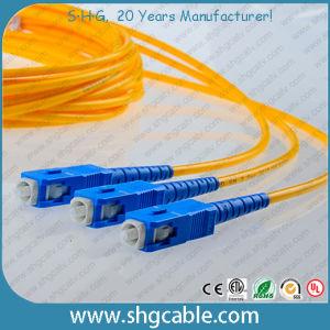 Single Mode 9/125um Simplex FC/Upc-Sc/Upc Fiber Optical Patch Cord pictures & photos