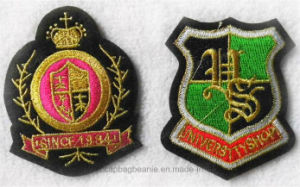 Customized Embroidery Malaysia Army Badge pictures & photos
