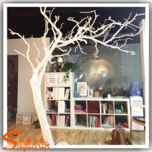 Home Decor Artificial White Dry Tree Made Of Fiberglass Wt12