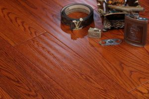 Fashan Manufacturer Cheap Natural Red Oak Hardwood Flooring pictures & photos