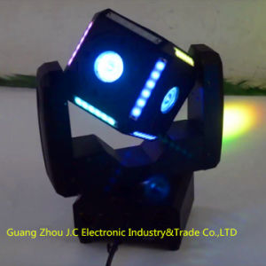 Newest 10W RGBW 4in1 LED Cube Football Moving Head Light pictures & photos