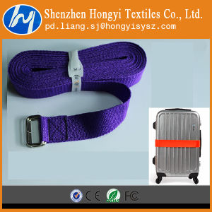 Durable Luggage Hook & Loop Strap with Buckle pictures & photos