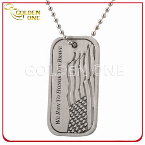 Custom Design Die Casting Zinc Alloy Antique Finish Dog Tag pictures & photos