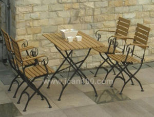 Patio Steel Dining Furniture (IF-1006) pictures & photos