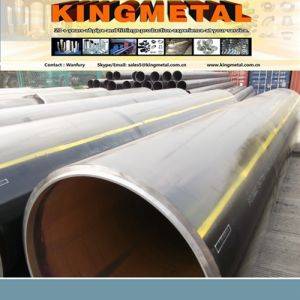 "API5l 56"" Welded Carbon Steel Pipe of LSAW Distributor Indonesia pictures & photos"