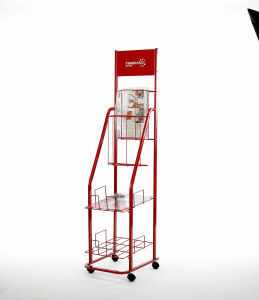 Custom Made Metal Magazine Display Stand