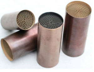 Honeycomb Metal Substrate Catalytic Converter Catalyst for Car pictures & photos