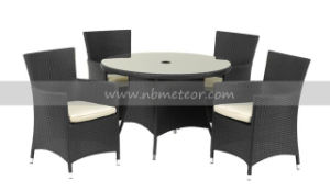 Outdoor Garden Rattan Furniture Dining Set (MTC-088-4) pictures & photos