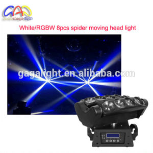 10 Watt 8 PCS RGBW Moving Head LED Beam/LED Spider DJ Disco Bar Beam Moving Head Light pictures & photos