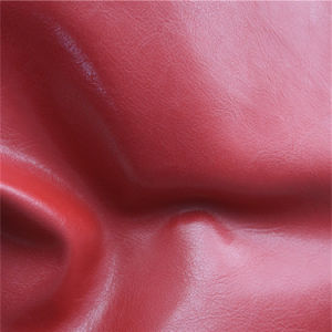 Abrasion Resistant Synthetic Leather for Sofa Upholstery (138#) pictures & photos