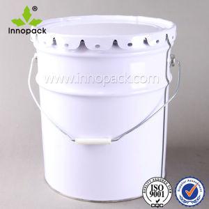 20L 5gallon Floral Lace Lid Paint Bucket Pail for Chemicals pictures & photos