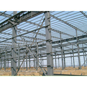 China Light Steel Prefabricated Modern Manufactured Warehouse/Workshop pictures & photos