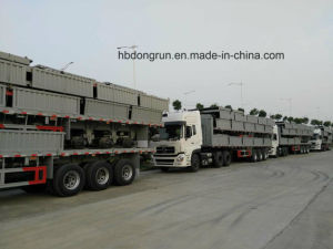 3 Axle Fence Stake Semi Trailer