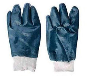 Cotton Jersey Nitrile Coated Glove pictures & photos