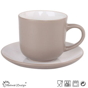 Ceramic Stoneware Cheap New Design Cup and Saucer pictures & photos