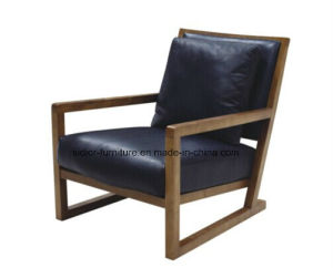 (CL-1127) Modern Wood Lounge Leisure Chair for Hotel Furniture pictures & photos
