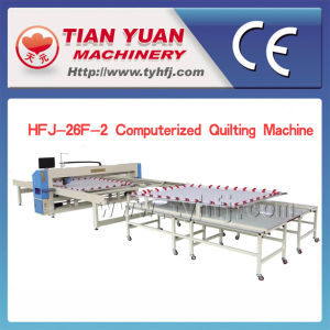 Hfj-F Series New Advanced Computer Single Needle Quilting Machine pictures & photos
