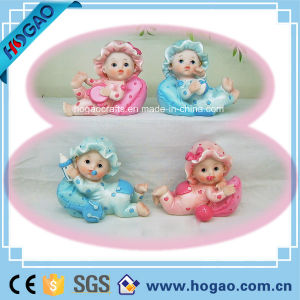 Polyresin New Born Baby Figurine (HGB02) pictures & photos