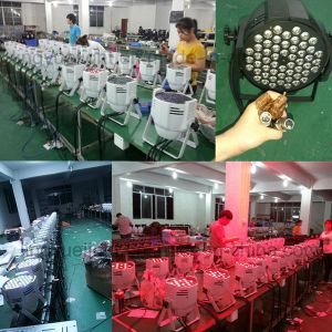 White Indoor 54X3w RGBW LED PAR Light pictures & photos