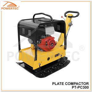 Powertec 38kn 70cm 250kg Vibrating Plate Compactor pictures & photos