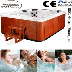 Factory Jy8002 Balboa Sex Whirlpool Outdoor Swimming SPA Pool Bath Tub 8 Person Use pictures & photos