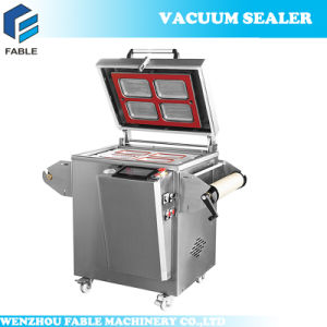 Vertical Air Inflation Vacuum Sealer with Food Tray (FBP-430) pictures & photos