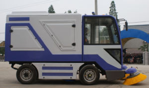All Closed Ride-on Road Sweeper Street Sweeper pictures & photos