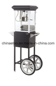 CE &ETL Certificate Approved Small Popcorn Machine with Cart pictures & photos