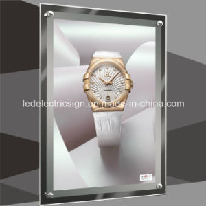 Wall Mounted LED Light Box with Watch Shop Display pictures & photos