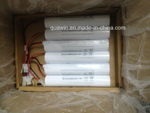 NiCd Cells Size D4000 3.6V Rechargeable Battery Pack pictures & photos