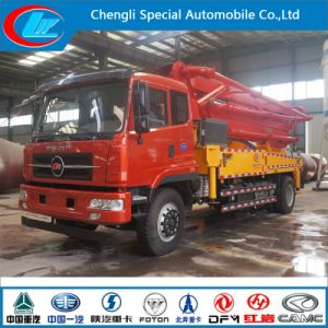 Factory Supply 28m Truck Mounted Concrete Boom Pump Truck pictures & photos