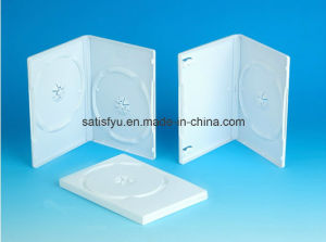 White Plastic DVD Box
