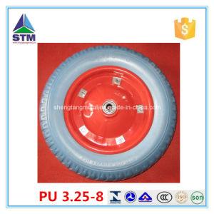 3.00-8 3.25-8 3.50-8 4.00-8 PU Foam Wheel, Flat Free Wheel, Polyurethane Wheel pictures & photos