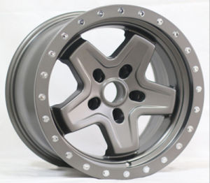 17X9 Fake Bead-Lock Aluminum Wheel Rims pictures & photos