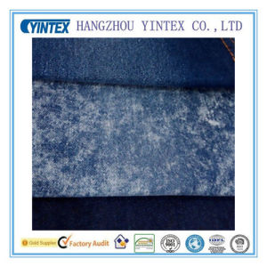 "58""Blue Cotton Polyester Spandex Denim Fabric for Dress pictures & photos"