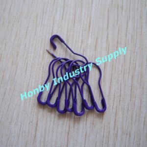 Dark Purple Color Gourd Shape Coilless Safety Pins for Knitting or Crocheting (P160725A) pictures & photos