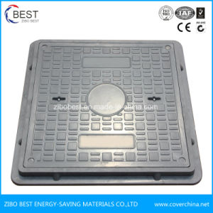 C250 Made in China Square Plastic Sewer Manhole Cover pictures & photos