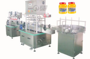Automatic Linear Bottle Sealing Machine with Film Hot Sealing pictures & photos