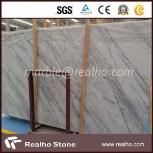 Imported Italy Polished White Arabescato Marble Slabs for Flooring/Wall/Countertops/Vanity Tops pictures & photos
