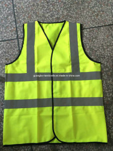 High Visibility Custom 100% Polyester Reflective Safety Vest pictures & photos