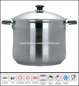 Stainless Steel Deep Soup Pot Cookware pictures & photos