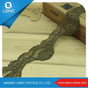 Unique Leaf Design Textile Tricot pictures & photos