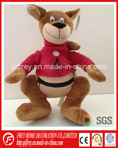 Hot Design Baby Promotion Gift of Plush Wolf Toy