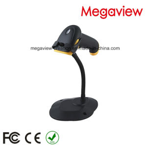 USB Cable Wired Auto Scan Barcode Scanner with Stand/Bracket (MG-BS2243T) pictures & photos
