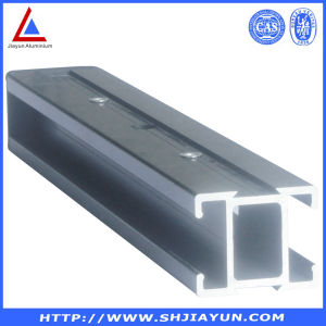 Aluminum Glass Frame Extrusion with CNC Deep Processing pictures & photos