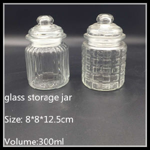 300ml Set of Glass Storage Bell Jar pictures & photos