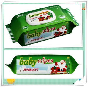 90 PCS Factory OEM Chemical Free Soft Baby Wet Wipes pictures & photos