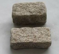 China Paving Stone Natural Granite Tumble Cobble pictures & photos