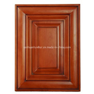 Solid Wood Kitchen Cabinet Door for Amrican (HLsw-1) pictures & photos