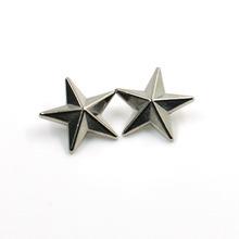 Metal Zinc Alloy Star Shape Stud Trim Rivet with Cap pictures & photos